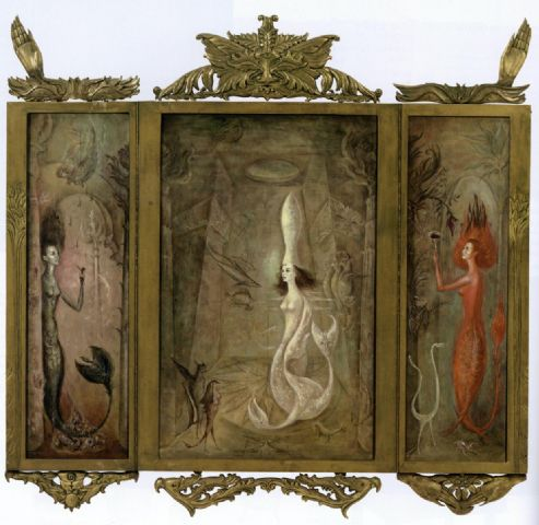 Leonora Carrington, Sueno de Sirenas (Dream of Sirens), 1963
