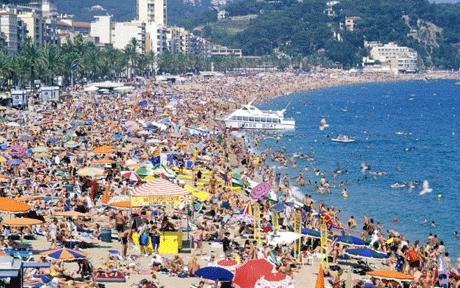 Getting away from it all in Benidorm