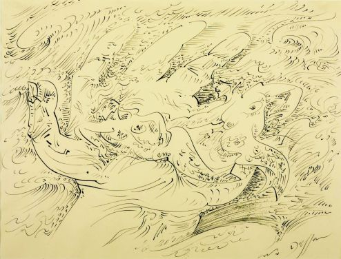 Sirens 1947 by André Masson 1896-1987
