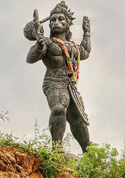50ft Hanuman in Karnataka, India